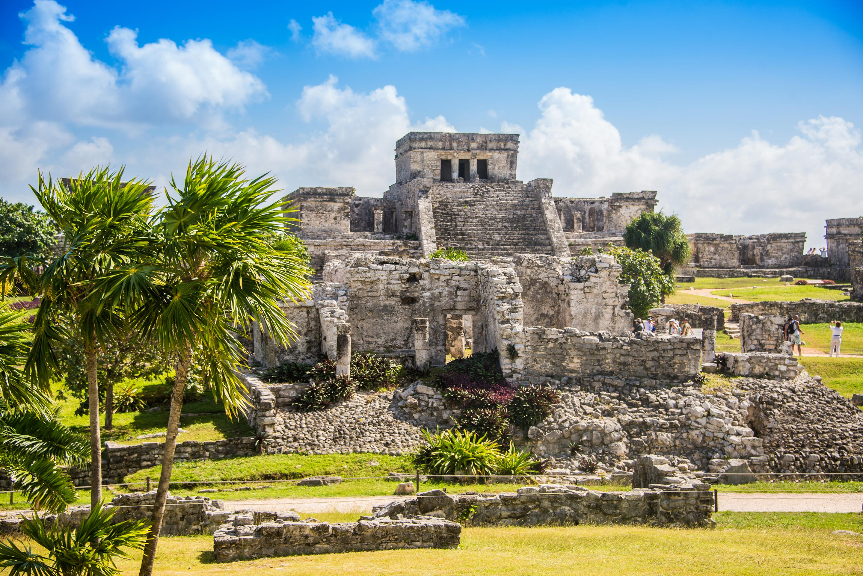 Ancient Civilization Ruins In The Caribbean