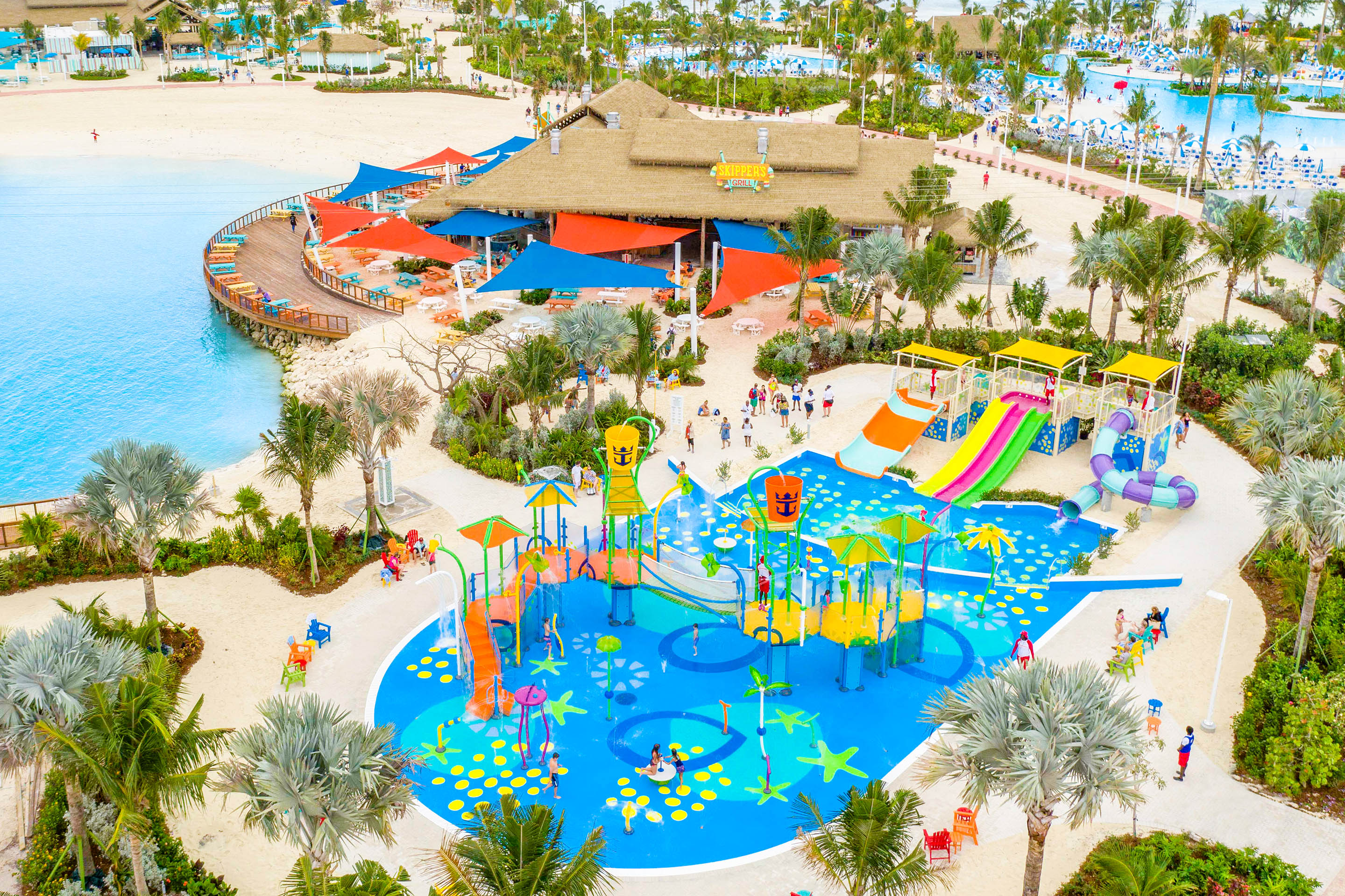 Perfect Day at Cococay Splashaway Bay waterpark