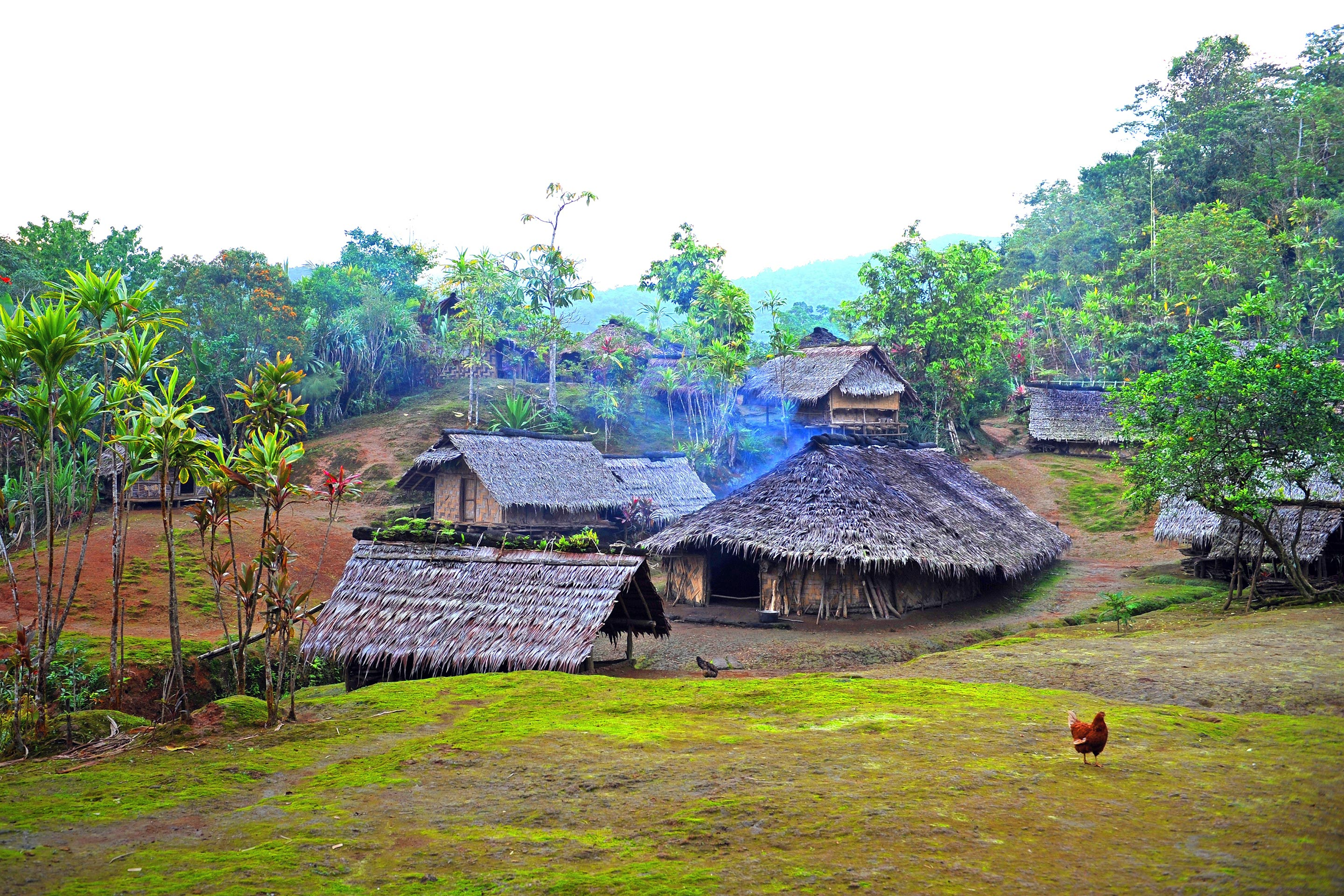 South Pacific Authentic Village