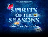The logo for the original ice skating show Spirits Of The Seasons.