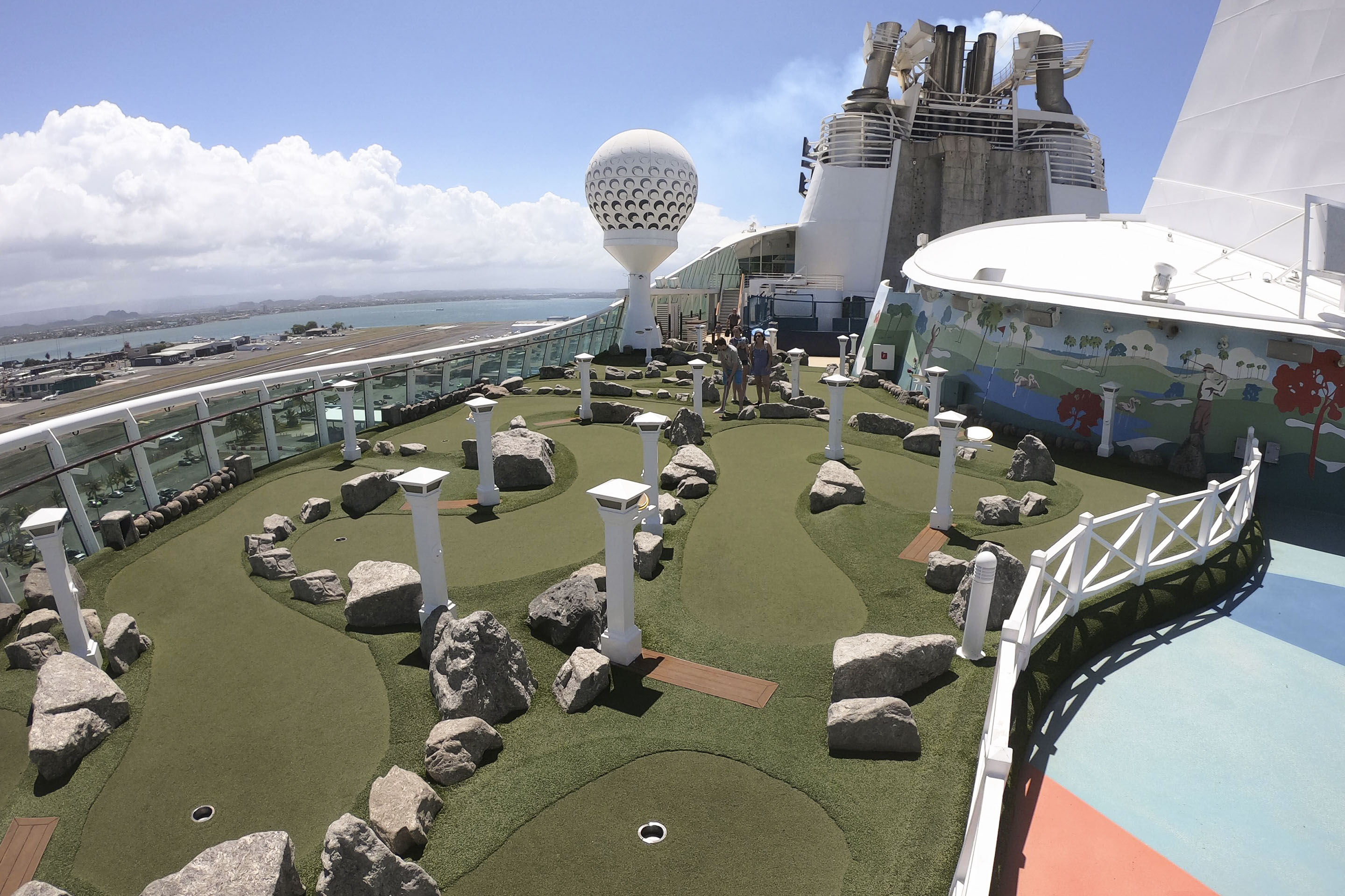 Sport Deck on Freedom of the Seas
