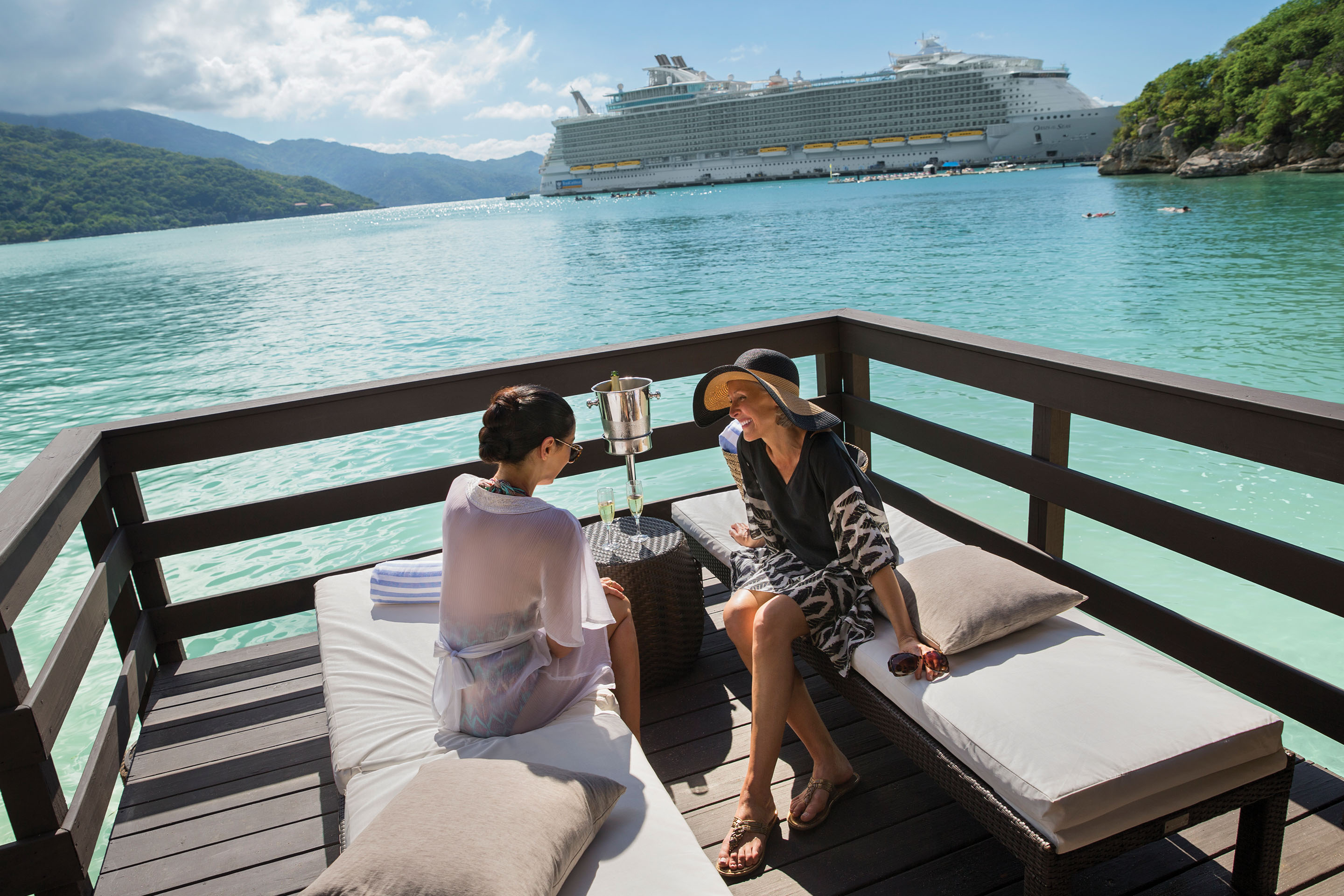 Royal Suite Class, Labadee Private Destination