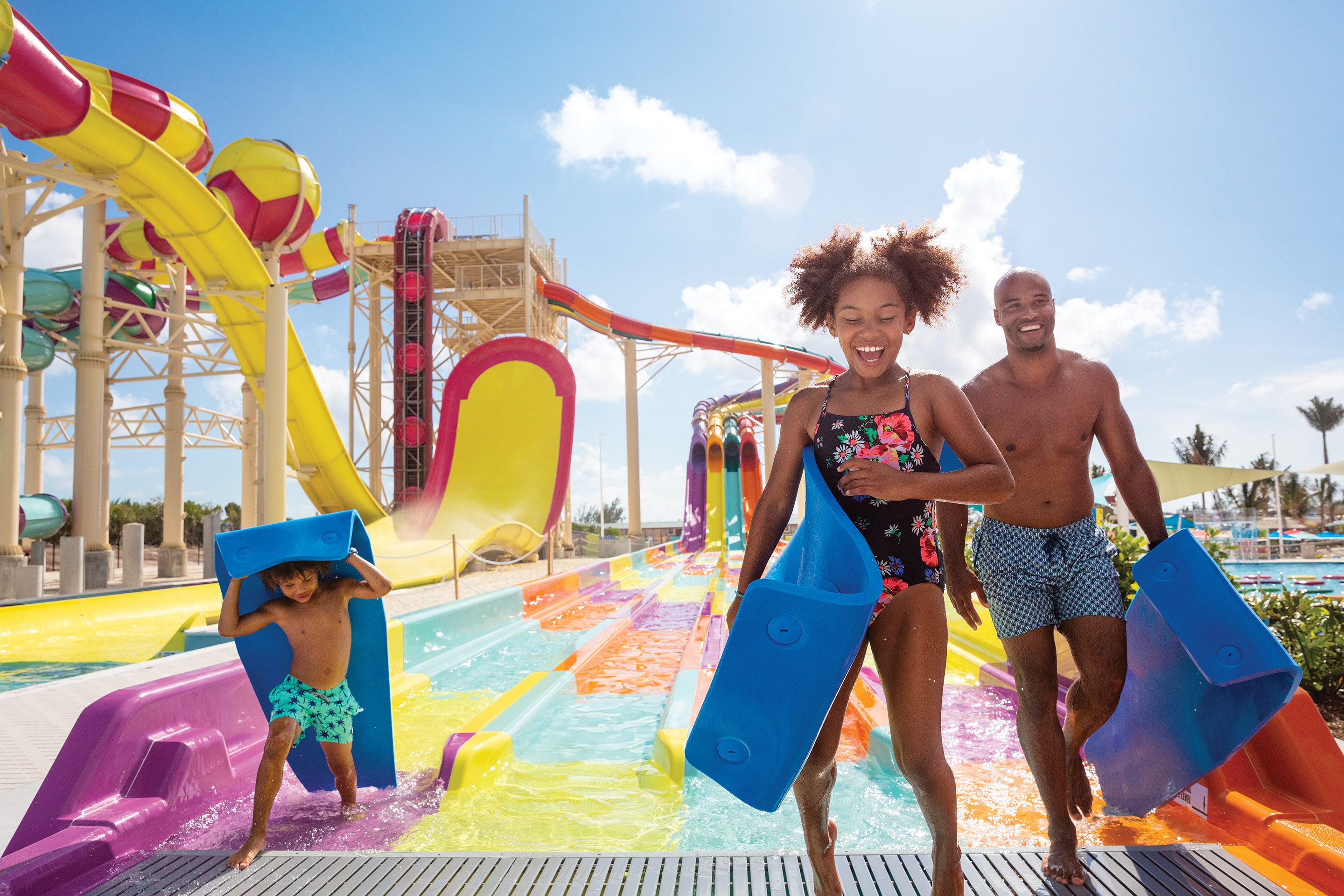 Perfect Day, Family Thrill Waterpark Sliding Mats