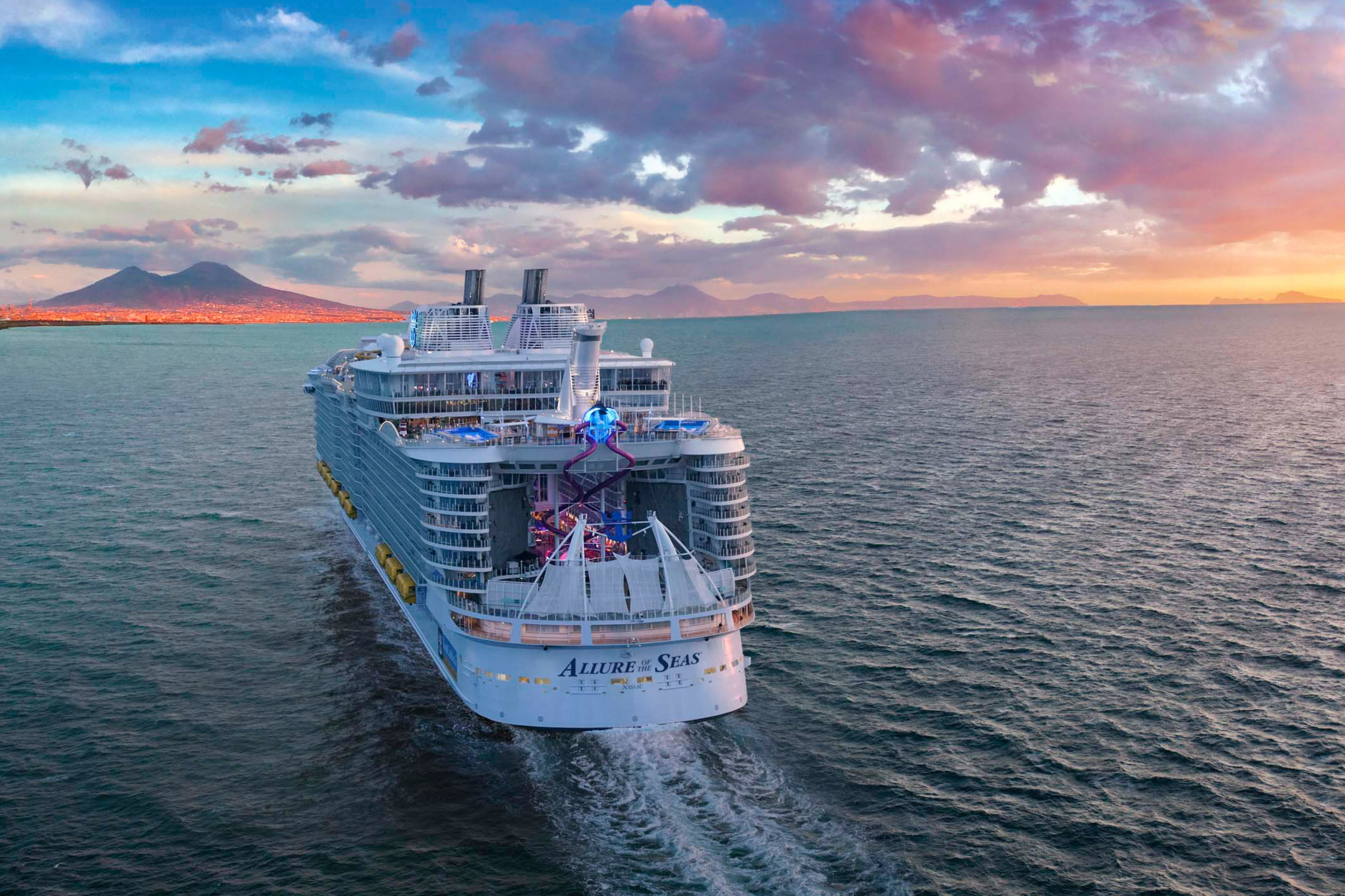 Allure of the Seas in Europa