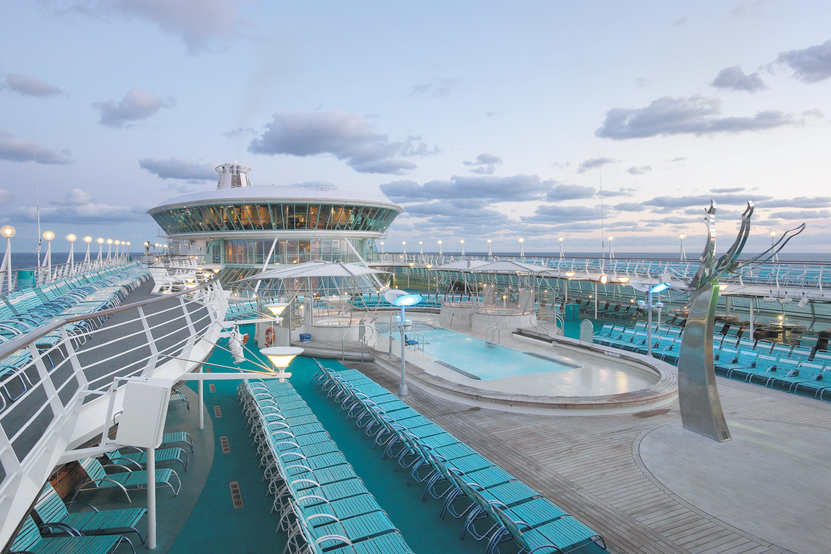 Ponte piscina Vision of the Seas